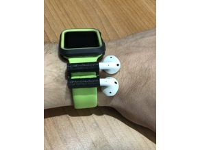 Custom AirPods AppleWatch 42 mount