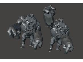 Idol of Gork - Ork / Goblin Rock Golem