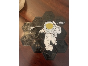 Astronaut Hex Tiles