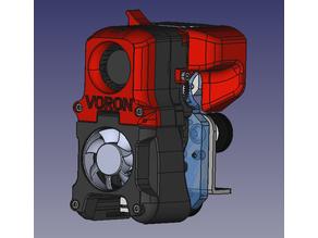 Voron afterburner mount for Ender 3 (bmg direct drive)
