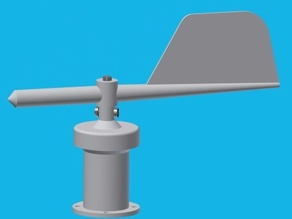Wind-Direction Sensor using IR-LED & Phototransistor