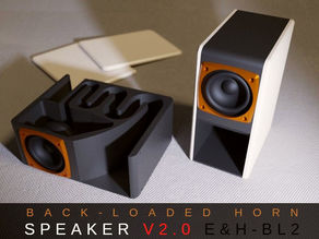 Back Horn Speaker V2.0 BL2 - Bluetooth, Active, Passive