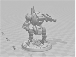 Furibundus Pattern Style Dreadnought - 28mm Robot Sci-Fi