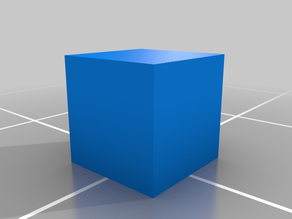 Color Clear Cube