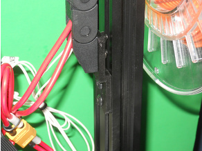 TronXY X5SA Z Cable Chain Holder