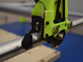 MPCNC Add-On | Dual-Endstop RollerPlate-Mount | by L3n1