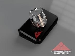 Carlz Cyberdyne T-800 Chip Holder + Base
