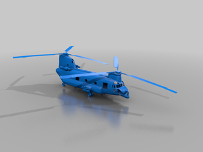 Helicopter CH-47 Chinook