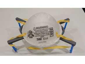 N95 respirator or Surgical Mask holder - desktop or inside car 外科口罩座-卓面用 或車內用