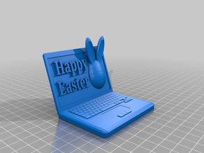 Easter Themed Laptop