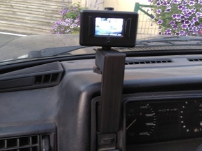 Go-Pro holder for Volkswagen Golf mkII