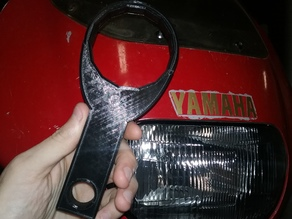 Simple Motorcycle Oil Filter Wrench
