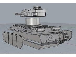 E-25 Tanks easy print