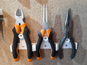 stable pliers without spring support - support de pince sans ressort stable