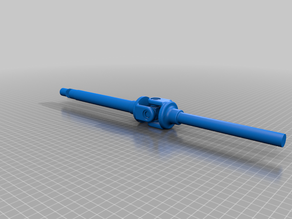 Functional Universal Joint (printed preassembled)