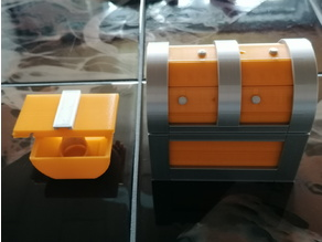 Remix of Treasure Chest Puzzle Box