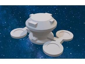 Star Trek Federation Starbase 375 modified