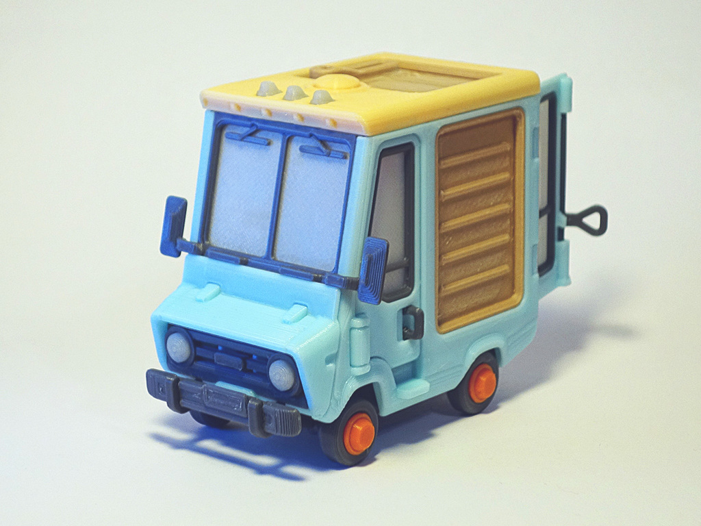 Piggy Van Construction Toy