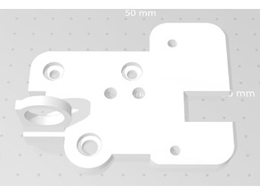 Ender 5  - Ender 5 Plus mount for OmniaDrop and EZABL