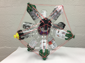 Gatorade Bottle Project: From Dodecahedron to Icosahedron