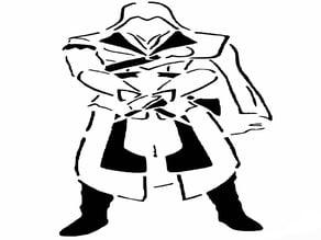 Assassins Creed stencil