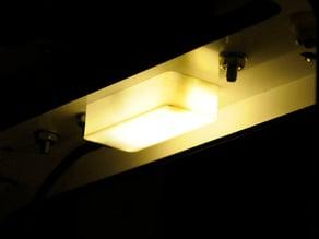 2x1W light MGN9 mount