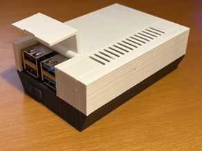 Raspberry Pi 4 NES case