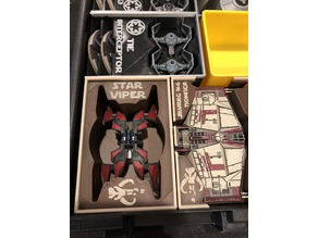 Star Viper Holder (X-Wing Miniatures) for Stanley organizer