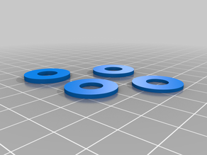 M8 spacers for  Greg Wade extruder