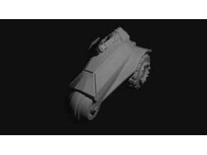 Armoured bike / trike / buggy for tabletop