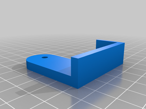 Ender 3 Bed holder for a 4 mm Mirror