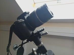 EQ1 mount camera adapter