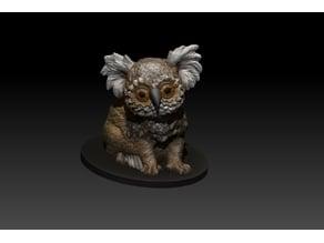 kolowl owl Bear