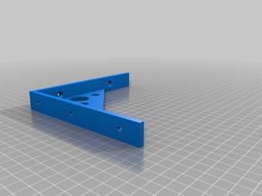 Wholey shelf bracket - 15cm