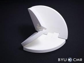 Four-bar Origami vertex