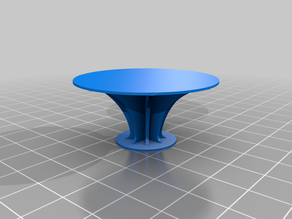 Simple Test for you part cooling from all directions that later can be used as mini table for small models