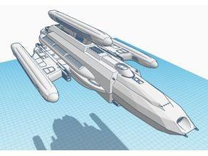 Raven Type Borg Attack Ship