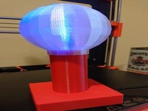 Spherical IoT lamp