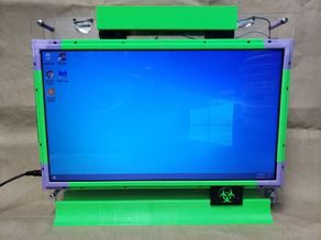 Broken Laptop to All-in-One Desktop Conversion