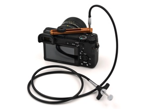 Adjustable Mechanical Cable Release Adapter for Digital Cameras