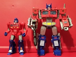POTP Optimus Primes neck adapters - Separate Orion Pax - Power of