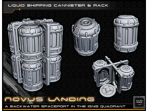 Canisters and Frame - 28-32mm gaming - Novus Landing