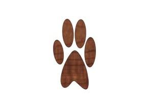 Pumpkin Paw Print, Halloween Decorations, Kids Halloween Craft, Animal Paw Design, Animal Lover