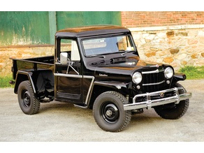 Willys Jeep Pick Up Truck 1950