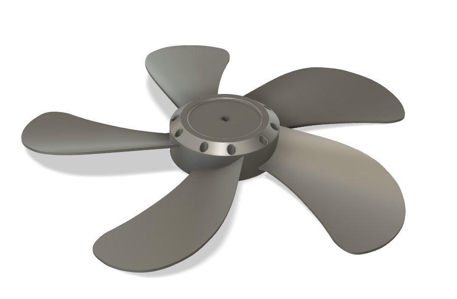 Dismountable impeller of a household fan 42 cm (420 mm)