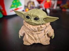 Baby Yoda Rubik's Cube