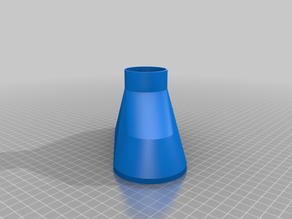 Funnel for the windscreen washer (customizable)