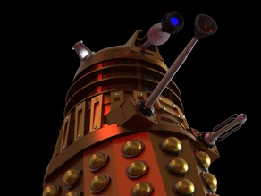 Dalek Model - Doctor Who (2005 Series)