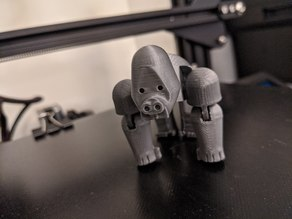 Movable Gorilla - Fixed Arms Sticking