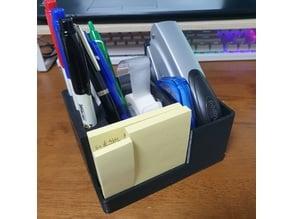 desk organizer - pen , post-it , stapler , etc.
